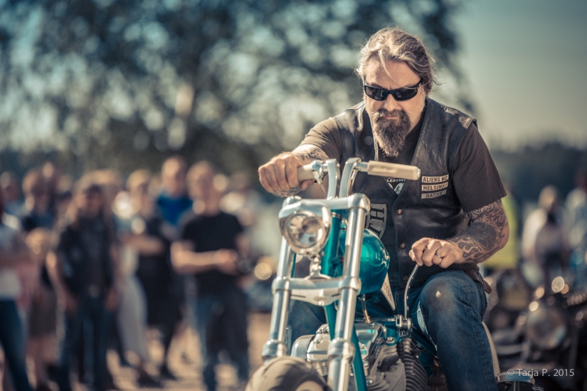 MMAF & Aliens MC Helsinki Bike Show 2015